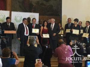 Reconocimientos a Jocutla en la Ceremonia de la AVPA 2016